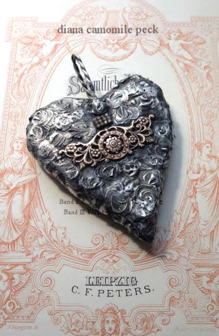 soldered heart stamped