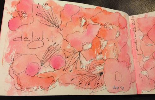 art journal vintage clementine