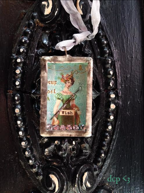Matchbox ornament wish