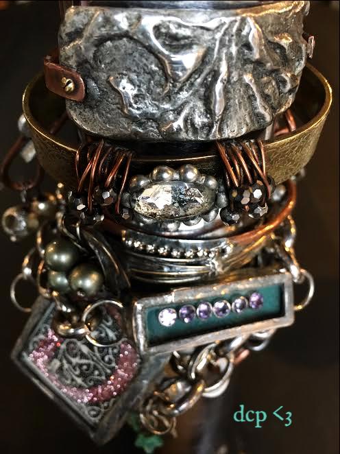 soldered bracelets diana camomile peck