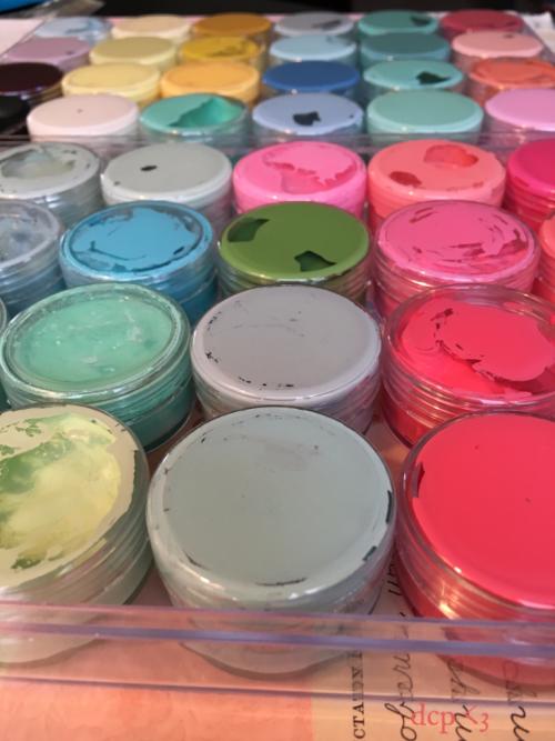 travel paint palette - diy - diana camomile peck
