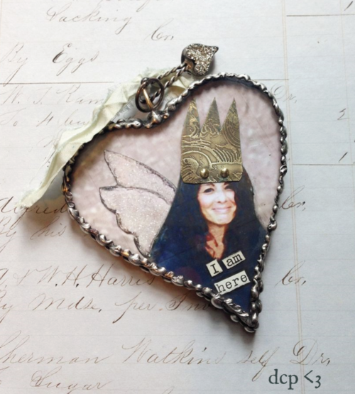 soldered heart for Lorraine
