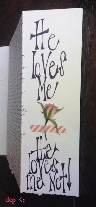 He loves me - art journal