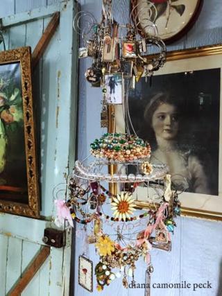 Soldered chandelier