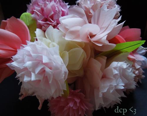 Handmade tissue paper flowers Martha Stewart