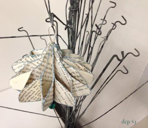 Julie collings paper ornament 2014
