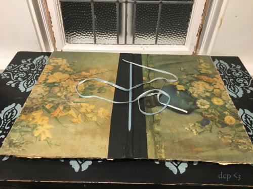 diana camomile peck handmade art journal