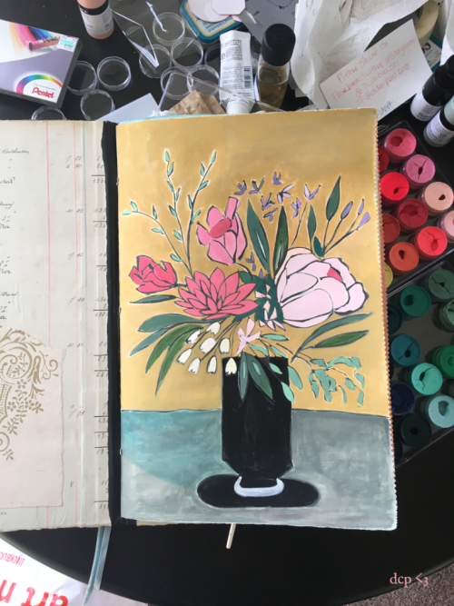 diana camomile peck - oh my guache online class