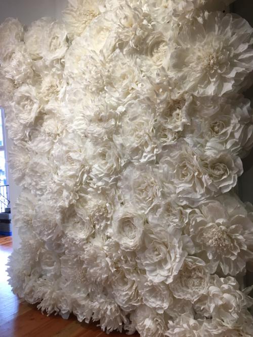 diana camomile peck handmade flower wall